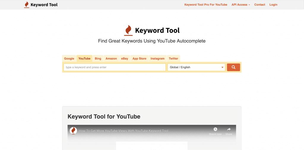 YouTube Keyword Tool 1