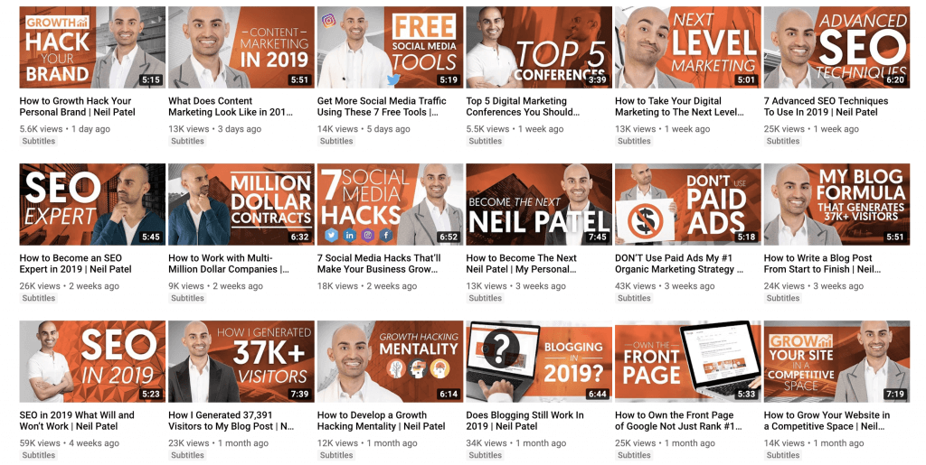 YouTube SEO Thumbnail images