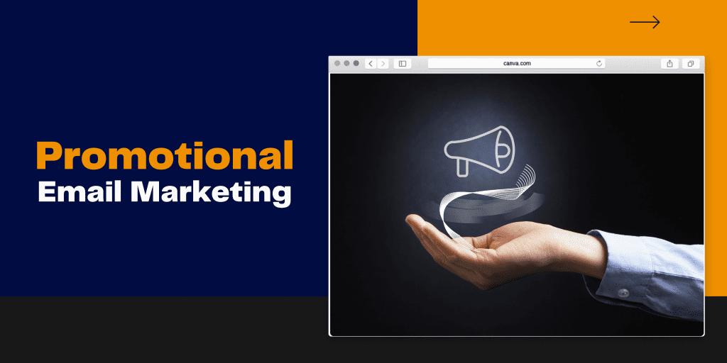 Promotional SEO email marketing