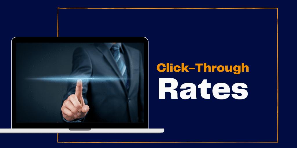 click through rates